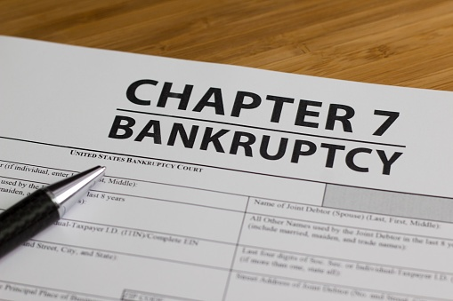 Chapter 7 Bankruptcy Papers