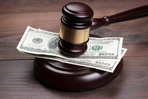chapter 7 bankruptcy trustee money and gavel