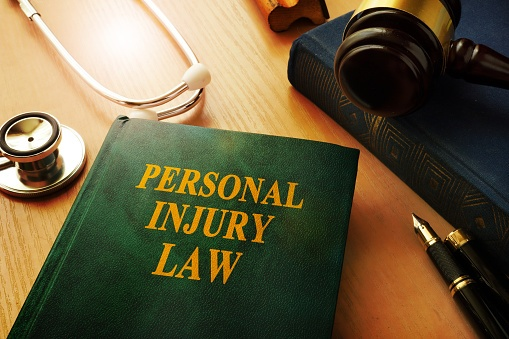personal injury law book