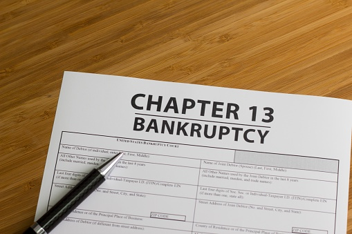 chapter 13 bankruptcy papers