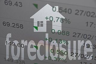 foreclosure image over numbers