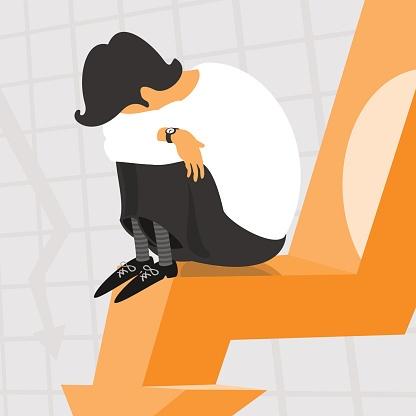 Man_on_falling_finance_chart
